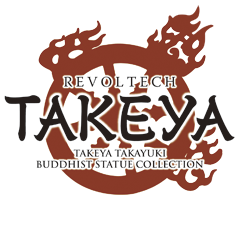 REVOLTECH TAKEYA TAKEYA TAKAYUKI BUDDHIST STATUE COLLECTION