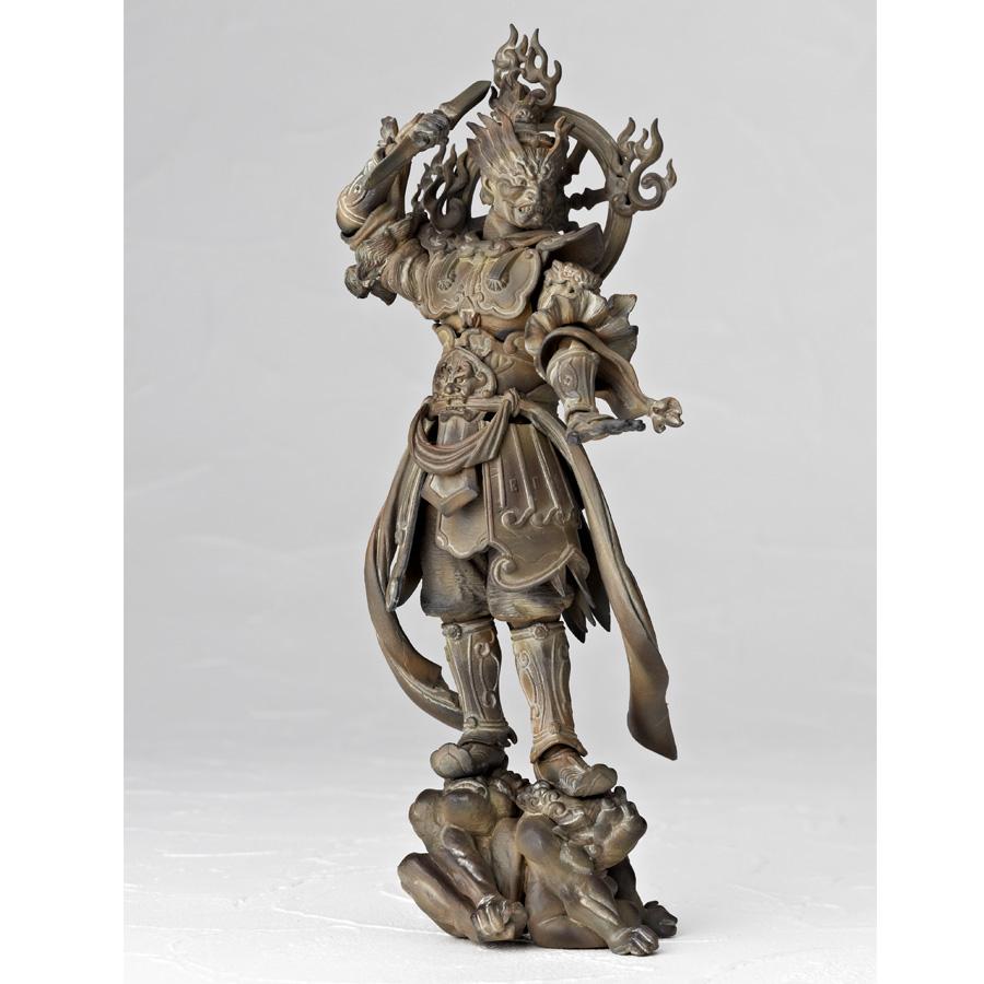 増長天木彫画像06 左・様々なポージングを可能にするオプションパーツ 杵... SERIES N